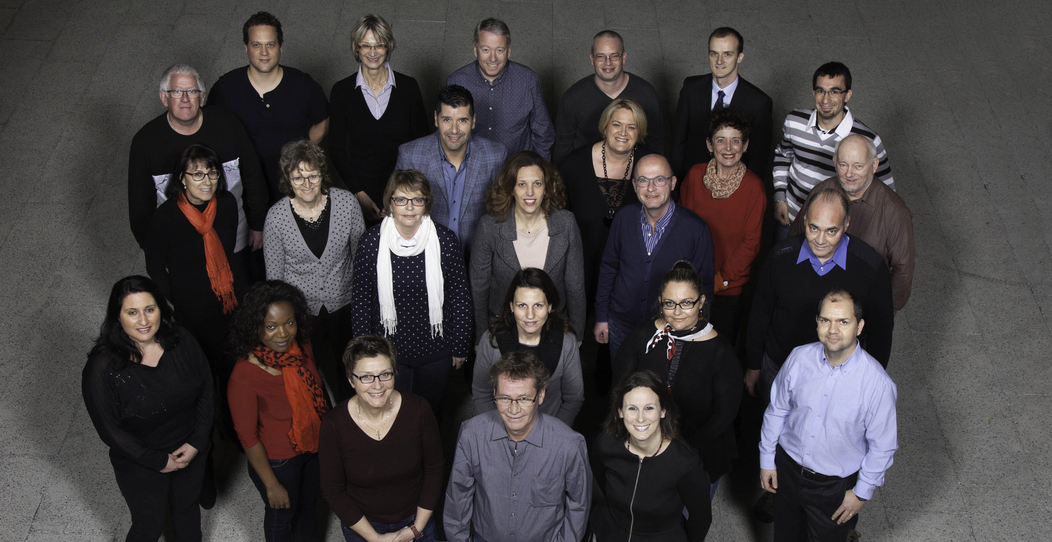 Conseil communal - candidats 2016